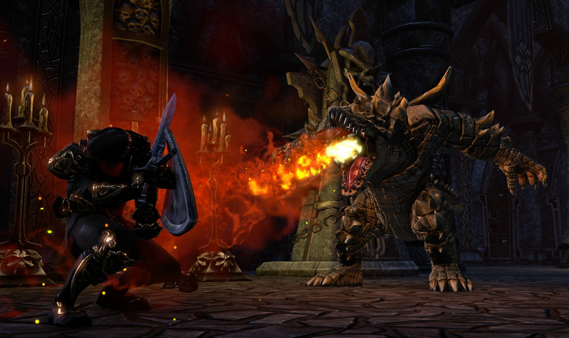 Turn Your ESO Gold Hunting Dragonknight Tougher w/ Draconic Power Passives